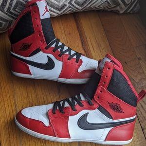 "Rare Air Jordan 1 Skinny High GS ""gym red 5.5y/ 7w"